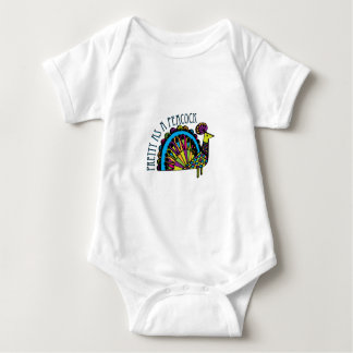 Pretty as a Peacock Baby Bodysuit