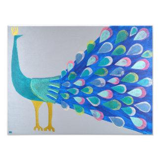 Pretty as a Peacock Print
