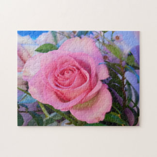 Pretty as a Picture Rose Rose Puzzle