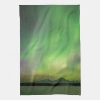 Pretty Aurora Tea Towel