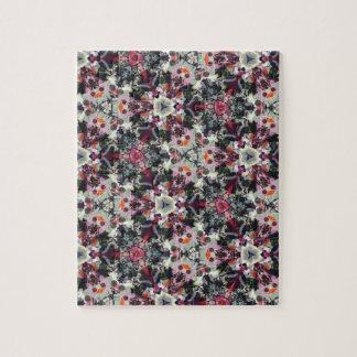 Pretty Autumn Kaleidoscope Jigsaw Puzzle