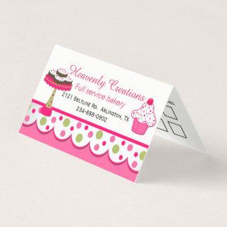 Pretty Bakery Folded Business / Loyalty Card