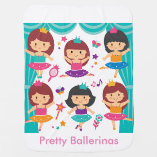 Pretty Ballerinas Baby Blanket