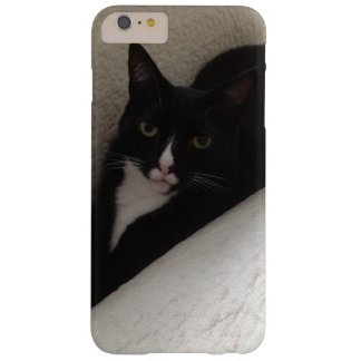 Pretty black and white kitten cat barely there iPhone 6 plus case