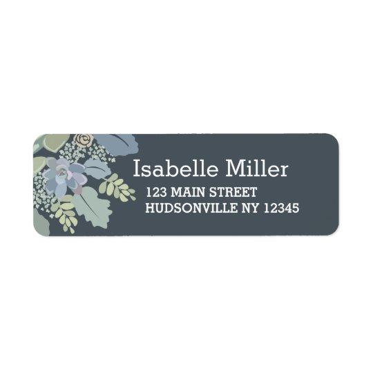 Pretty Blooms Vintage Garden Wedding Labels