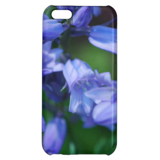 Pretty Blue Bell Flowers Cover For iPhone 5C