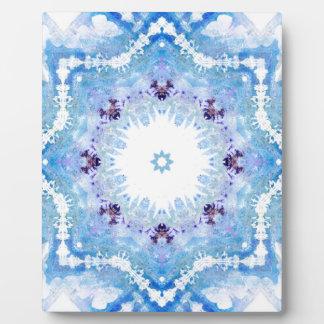 Pretty blue butterflies plaque