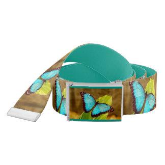 Pretty Blue Butterfly Belt