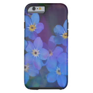 Pretty Blue Flowers Iphone Case