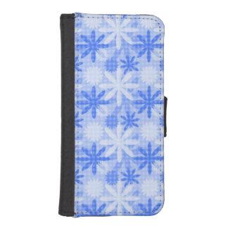Pretty Blue Flowers Phone Wallets