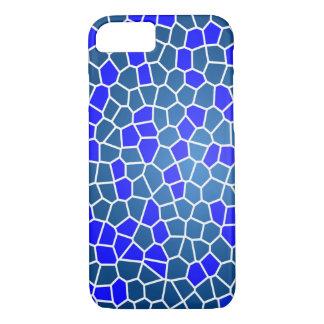 Pretty Blue Mosaic Pattern Phone Case