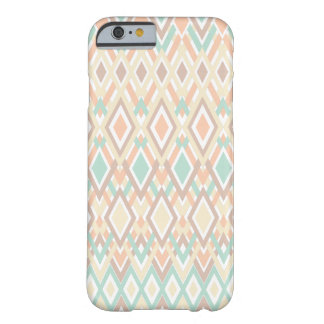 Pretty Boho | Pink and Teal Barely There iPhone 6 Case