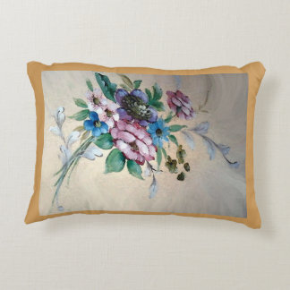 Pretty Bouquet of Flowers Accent Pillow
