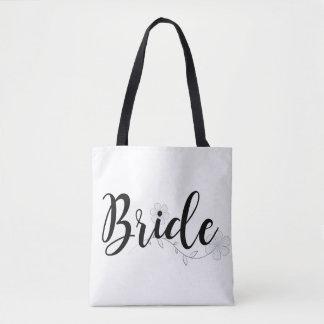Pretty Bride Custom Tote Bag