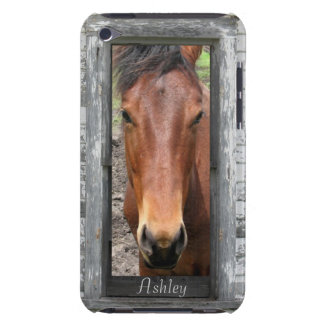 Pretty Brown Horse, Customize name iPod Touch Cover