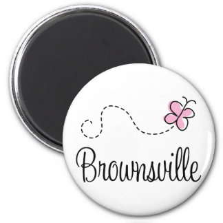 Pretty Brownsville Texas T-shirt Magnet
