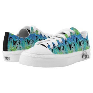 Pretty Butterfly Design Shoes Printed Shoes