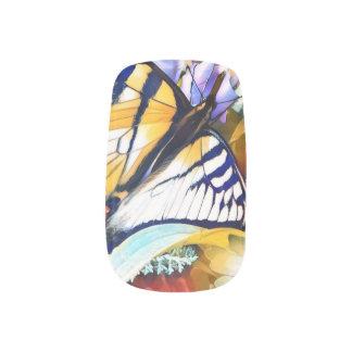 Pretty Butterfly Fingernail Art Minx Nail Art