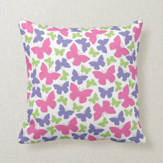 Pretty Butterfly Girl's Room Decor Throw Pillow Throw Cushions