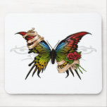 Pretty Butterfly Mouse Mats