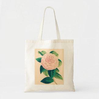 Pretty Camellia Tote Bag