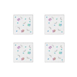 Pretty Cherry Blossom Flowers Stone Magnet