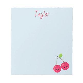 Pretty Cherry Notepad