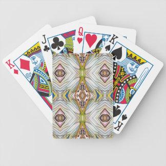 Pretty Chic Artistic Tribal Pattern Poker Deck
