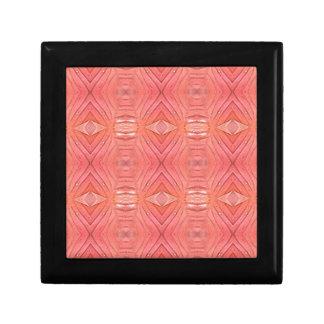 Pretty Chic Soft Peach Pastel Pattern Gift Box