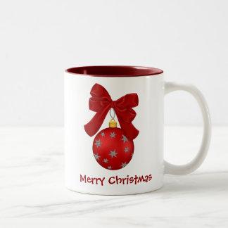 Pretty Christmas Ornament Mug
