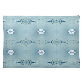 Pretty Classic Blues In Modern Pattern Placemat