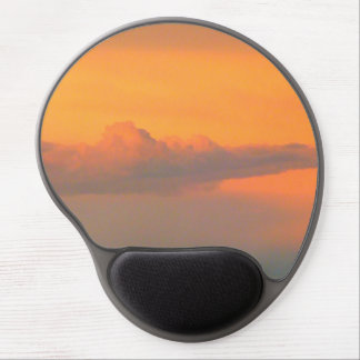 pretty clouds gel mouse pad