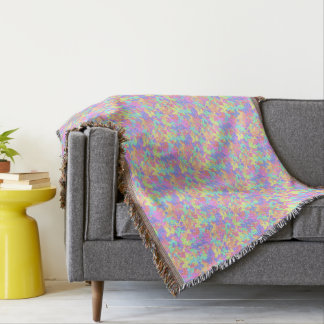 Pretty Colorful Butterfly pattern Throw Blanket