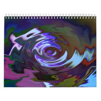 Pretty colors wall calendars