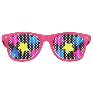 pretty coloured stars shades