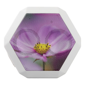 Pretty Cosmos Flowers White Boombot Rex Bluetooth Speaker