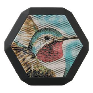 Pretty Costa's Hummingbird Black Bluetooth Speaker