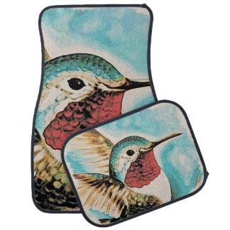 Pretty Costa's Hummingbird Car Mat
