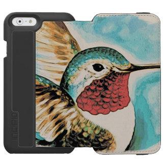 Pretty Costa's Hummingbird Incipio Watson™ iPhone 6 Wallet Case
