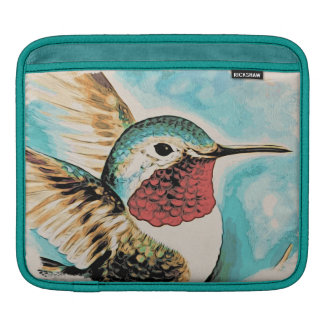 Pretty Costa's Hummingbird iPad Sleeve