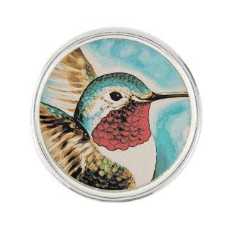 Pretty Costa's Hummingbird Lapel Pin