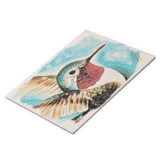Pretty Costa's Hummingbird Notepad