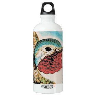 Pretty Costa's Hummingbird Water Bottle