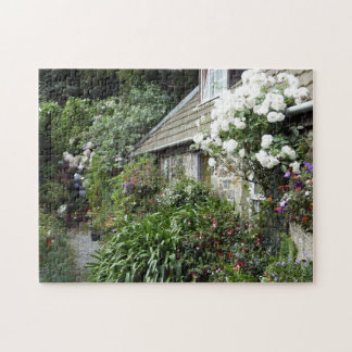 Pretty Cottage Sark Jersey Islands. Jigsaw Puzzle