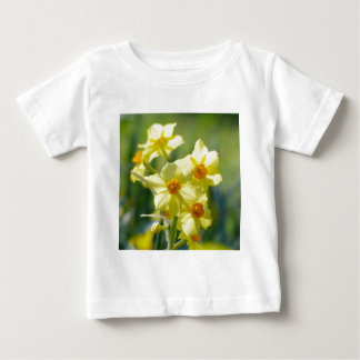 Pretty Daffodils, Narcissus 03.1 Baby T-Shirt