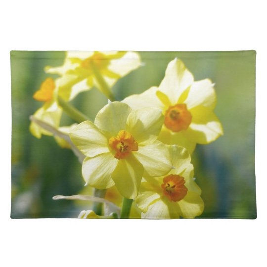 Pretty Daffodils, Narcissus 03.1 Placemat