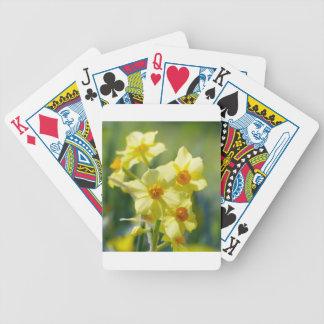 Pretty Daffodils, Narcissus 03.1 Poker Deck