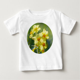 Pretty Daffodils, Narcissus 03.2_rd Baby T-Shirt