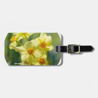 Pretty Daffodils, Narcissus 03.2_rd Luggage Tag