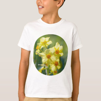 Pretty Daffodils, Narcissus 03.2_rd T-Shirt